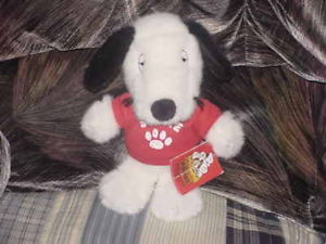 "10"" Peanuts Spike Plush Toy W/Tags Snoopy Brother Cute"