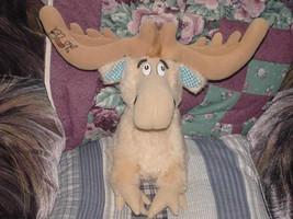 """14"""" Dr Seuss THIDWICK Moose Plush Toy 1983 Coleco - $32.36"""