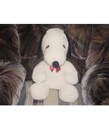 "17"" Big Snoopy Sitting Plush Toy From Peanuts M/W/Tags - $46.39"