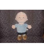"13"" Camp Snoopy LINUS Plush Peanuts Doll Adorable - $55.74"