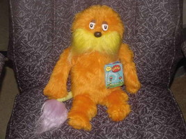 """16"""" Dr Seuss LORAX Plush Toy W/Tags By Coleco 1983 - $93.14"""