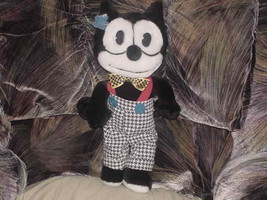 """15"""" Felix The Cat W/Outfit Plush Toy By Applause 1988 - $55.74"""