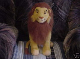 Disney Lion King ADULT SIMBA Plush Toy By Applause - $55.74