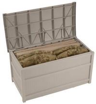 50 Gallon Deck Box Storage Patio Garden Pool Outdoor Backyard Organize F... - $119.00