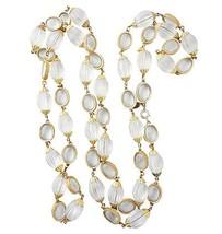 DeLillo Runway Couture Sautoir Necklace 1960s - €190,38 EUR