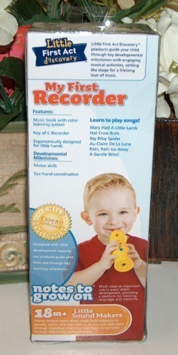 My First Recorder by Little First Act Discovery