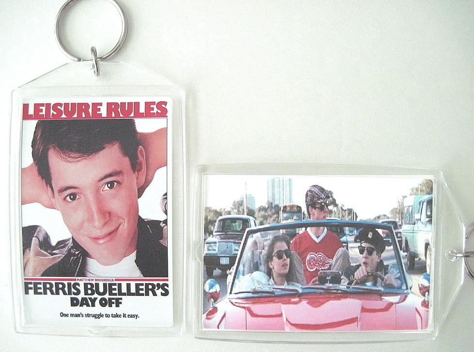 Ferris bueller keychain to post