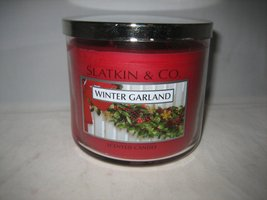 Winter garland candle thumb200