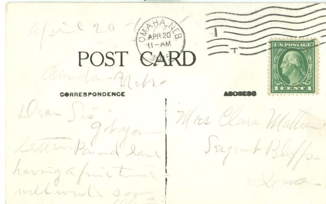 Stone Bridge, Minnehaha Glen, Minneapolis, Minnesota, 1915 used Postcard