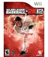 Major League Baseball 2K12 - Nintendo Wii - $68.78
