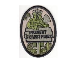 Smokey the Bear Hot Shot Wildland Fire Crew USFS & NPS Prevent Forest Fire Patch - $9.99