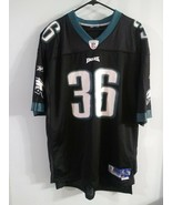Vintage Brian Westbrook Philadelphia Eagles  Jersey Size XL Stitch Sewn ... - $49.49