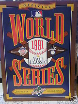 Great 1991 World Series Fall Classic Magazine........Free Postage Usa - $15.43