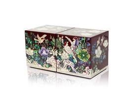 Perlmutt-Mutter von handgefertigten Perlenschmuck, Schmuck Box Geschenk ... - $158.97