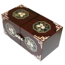 Perlmutt neue Mutter von handgefertigten Perlenschmuck, jewel Box #0193 - $55.64