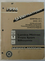1996 Lumina Minivan Trans Sport Silhouette Service Shop Repair Workshop ... - $19.79