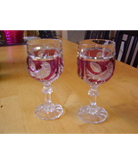 Hofbauer Red Byrd Wine Glasses - $75.00