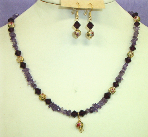 Necklace set, Afternoon Breeze #7-10M4917, Free Ship
