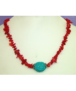 Necklace, Southwest Breeze #7-10M4898, Free Ship - $11.99