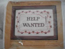Creative Circle 7088~Help Wanted Cross Stitch Kit - $10.00