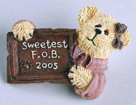 "Boyds BearWear ""Bon-Bon Sweetbeary"" Lapel Pin -#02005-11- New-2005 -Retired - $5.99"