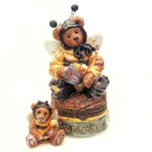 """Boyds Bears- Le Bearmoge Porcelain Box """"Bumble ... - $29.99"""