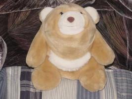 "10"" Butterscotch Snuffles Polar Bear Plush By Gund From 1981 - $46.39"