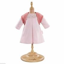 "COROLLE MON CLASSIQUE PINK DRESS & WOOLEN VEST Outfit Fits 17"" Baby Doll Y5480-0"