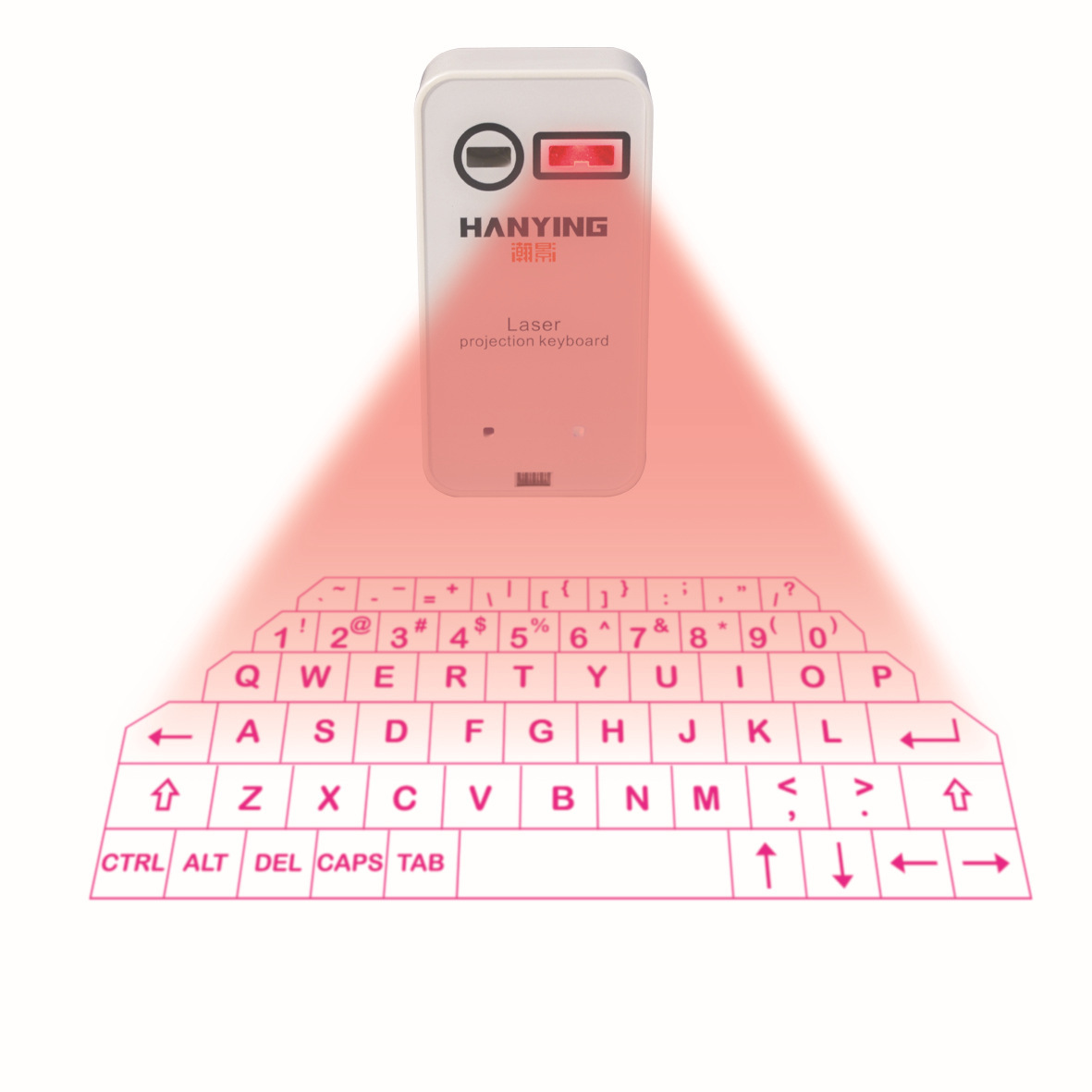 Bluetooth wireless phone/Pad laser projection keyboard and mouse