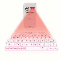 Bluetooth wireless phone/Pad laser projection keyboard and mouse  - £27.28 GBP