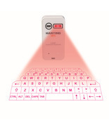 Bluetooth wireless phone/Pad laser projection keyboard and mouse  - £25.64 GBP