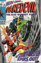 Daredevil Comic Book #58 Marvel Comics 1969 FINE+ - $19.27
