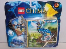 New! Lego Building Toy : Legends of Chima Eglor Nest Dive 97pc Set#70105... - $10.95