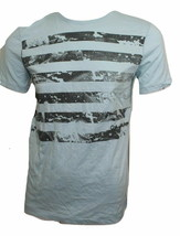 Calvin Klein Men's T-shirt Crew Neck S-Sleeve Blue Small Front Print NWOT - $12.65