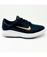 Nike Vapor Black Metallic Bronze White Womens Spikeless Golf Shoes AQ232... - $44.95