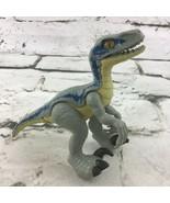Jurassic World Raptor Dinosaur Action Figure BLUE Velociraptor Toy - $14.84