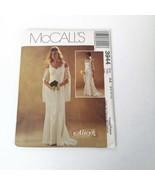 McCalls 3944 Sz 6 8 10 12 Wedding Fitted Dress Alicyn Pattern Bell Sleev... - $29.99
