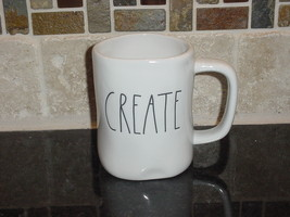 Rae Dunn CREATE Mug, Ivory with Black Lettering - $11.00