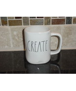 Rae Dunn CREATE Mug, Ivory with Black Lettering - $12.00