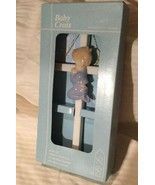 The Valencia Collection Baby Boy w/ Cross by Roman 1985 Hand Painted Por... - $13.85