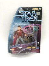 JAMES KIRK Star Trek: The Original Series Warp Factor Series 5 Action Fi... - $11.49