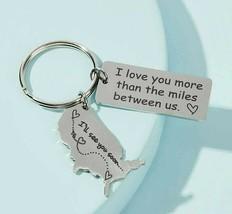 Slogan & Heart Pattern Metal Charm Keychain, LOVE HEART CHARM KEYCHAIN - $12.86