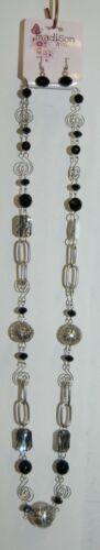 Madison Avenue 14 inch Necklace Earring Set KPN2014RZ