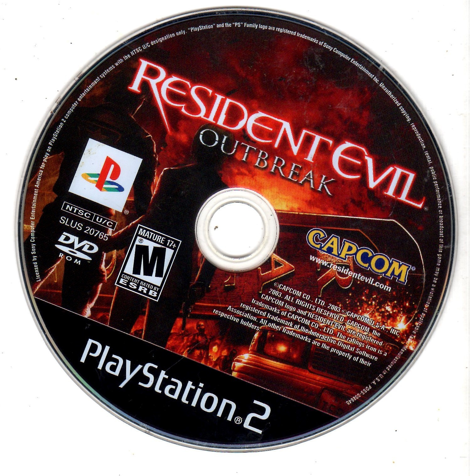 Playstation 2 - Resident Evil: Outbreak
