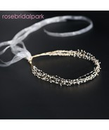 rosebridalpark Handmade Bridal Hair Accessories Headbands Head Piece Wom... - $60.78 CAD