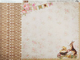 Authentique Jubilee Collection 12x12 Cardstock, 12 Sheets, Easter image 5