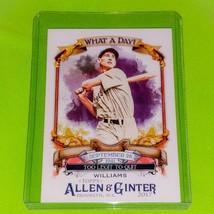 Mlb Ted Williams Boston Red Sox 2017 Topps Allen & Ginter Too Legit To Quit Mnt - $1.35