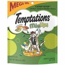 10 Temptations Mixups Cat Treats-Catnip Fever Flavor- 6.3 Oz. Pouches Fu... - $29.95