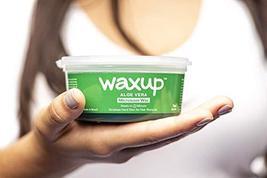 Waxup Microwave Hard Wax Kit, Aloe Vera, 7 Ounces Pot with 8 Large Wax Sticks, H image 3