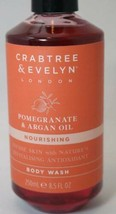 Crabtree & Evelyn Nourishing Pomegranate & Argan Oil Body Wash 8.5 Oz - $18.76